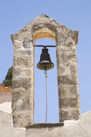 church bell: Church bell on an Orthodox Church tower