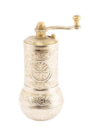 pepper grinder: Pepper grinder isolated on white