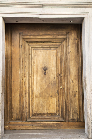 vintage door: Old grunge wooden door
