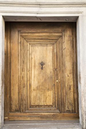 large doors: Old grunge wooden door