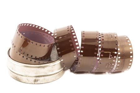 分離された金属ケースにマイクロ フィルム ストリップ