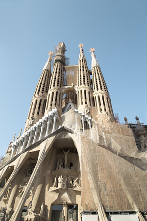 Sagrada Familia - The Roman Catholic Church in Barcelona