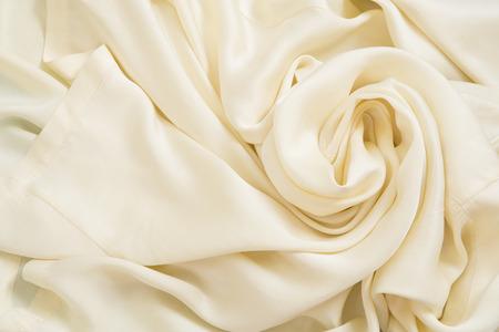 Silk texture close up