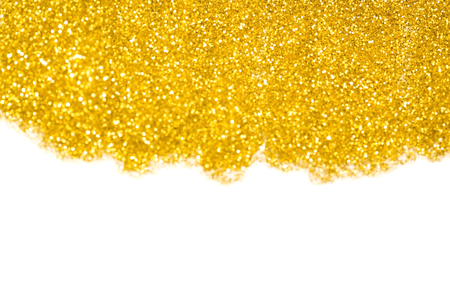 Gold glitter abstract light background 스톡 콘텐츠 - 110630364