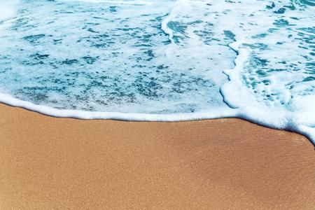 Sea wave on beach sand Archivio Fotografico - 123223171