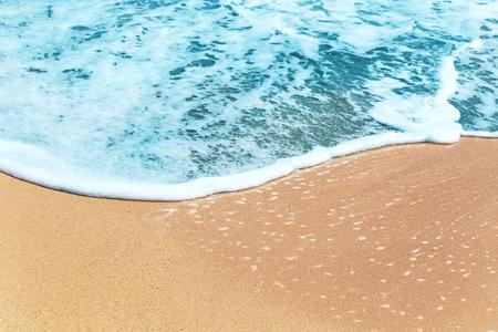Sea wave on beach sand Archivio Fotografico - 123223172