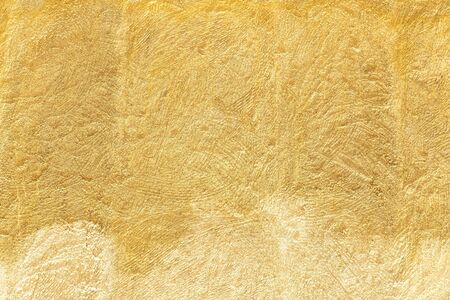 Grunge yellow wall texture as background