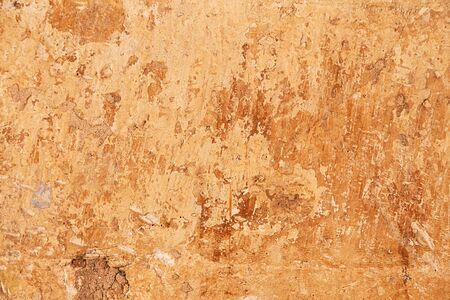 Grunge brown wall texture as background