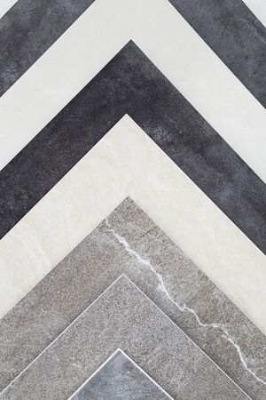 Various ceramic tiles as background Reklamní fotografie - 127668516
