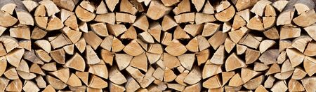 Pile of firewood as background Reklamní fotografie - 127668538