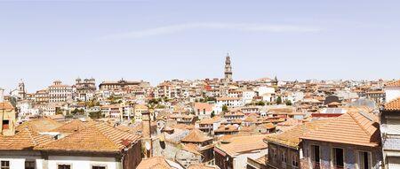 Panoramic view of Porto ( Oporto ) - Portugal