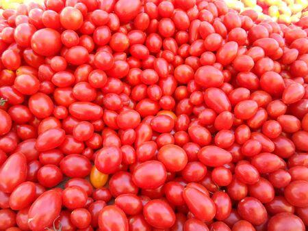 Cherry tomatoes Stock fotó