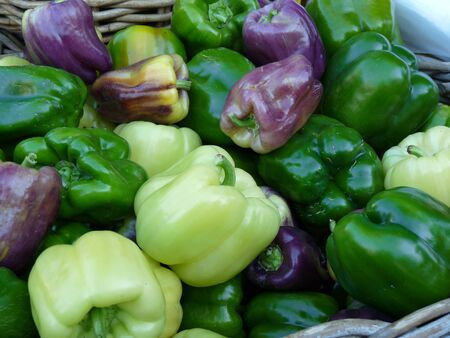 Fresh peppers Stock fotó