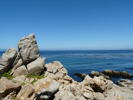 California uitzicht op de oceaan