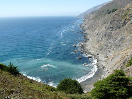 Kust van Californië Stockfoto