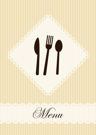 Restaurant menu template Stock Vector - 10447342