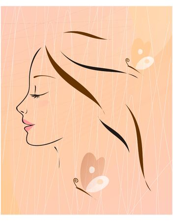 Beauty woman illustration illustration