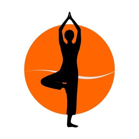 legged: yoga