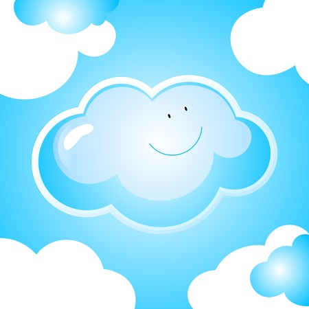 little cloud illustration
