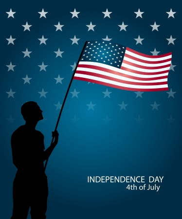Independence day 4th of July Stock Vector - 14245996
