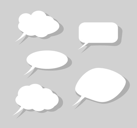 Speech bubbles Illustration