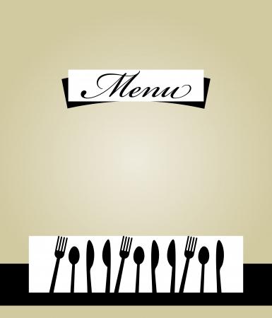 uitnodigen: Restaurant menukaart