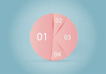Circle diagram Stock Vector - 15392999