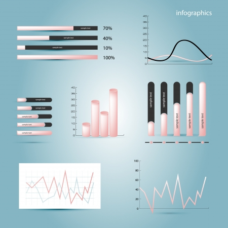 Infographics elements Illustration