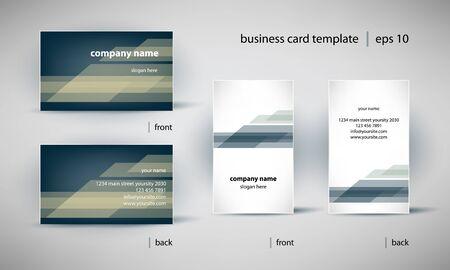 visit card: creative business card template set
