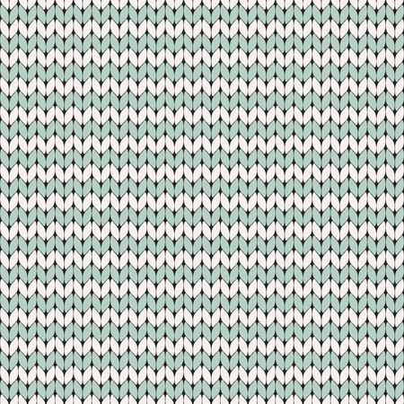 Striped knitted seamless pattern vector illustration
