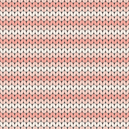 pink striped knitted seamless pattern vector illustration. Abstract seamless background.