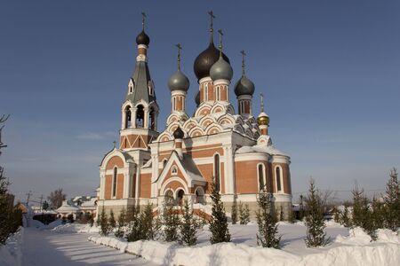 the orthodox church: Orthodox church in Berdsk
