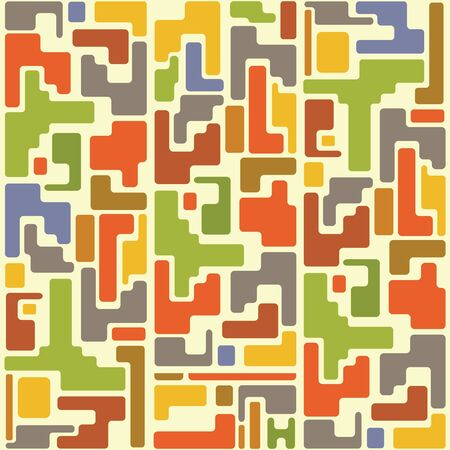 Abstract geometric background. Colorful illustration