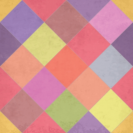 Textured argyle seamless pattern illustration