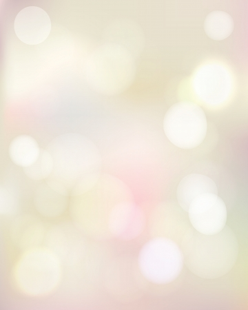 Abstract bokeh lights Illustration