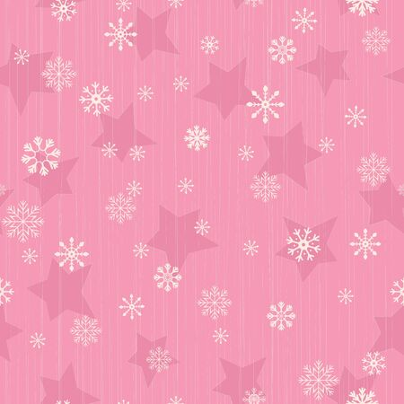 Seamless pattern with christmas elements.   Vector