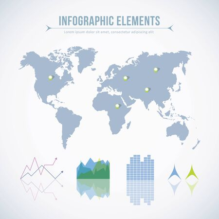 Infographic elements. Vector