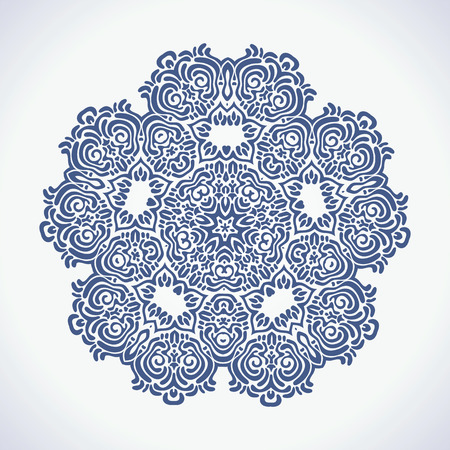 Ornamental Lace pattern  Vector illustration
