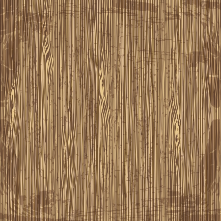 arboreal: Old wood background. Vector illustration