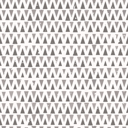 Abstract seamless triangle pattern in ethnic style