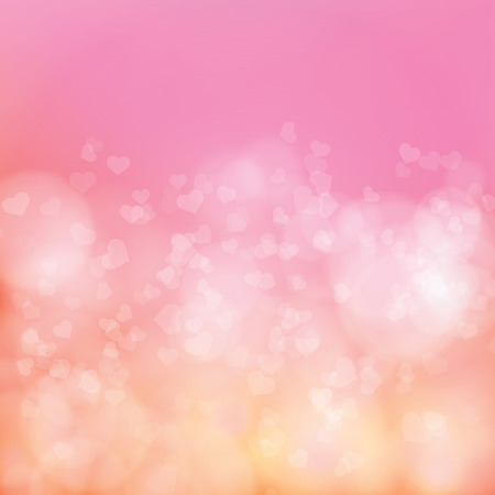 soft background: Abstract soft background with hearts Illustration
