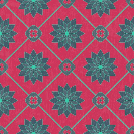 Vector ornamental seamless pattern with luxury texture Vector
