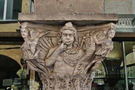 로마 조각, 피사 이탈리아 스톡 콘텐츠