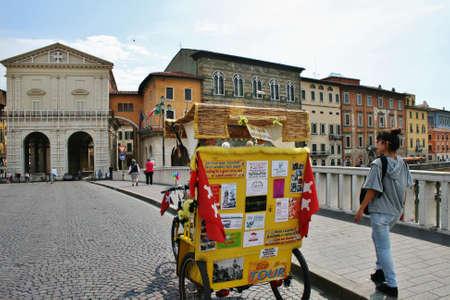 river arno: Pisa Italy tour guide bike River Arno