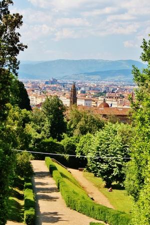 palazzo: Florence view from Boboli Gardens, Palazzo Pitti