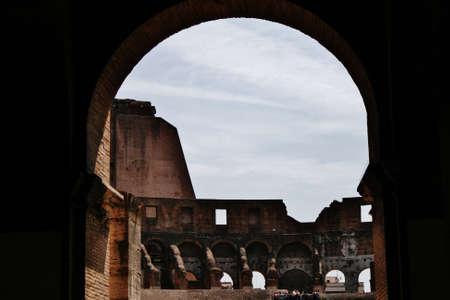 amphitheatre: Amphitheatre, Colosseum Rome Editorial