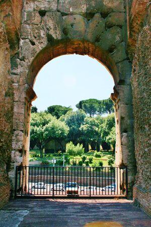 Amphitheatre Colosseum Rome Banco de Imagens - 21475538