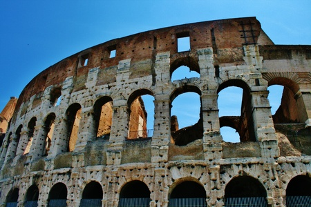 amphitheatre: Amphitheatre Colosseum Rome