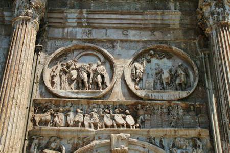 Amphitheatre Colosseum Rome Banco de Imagens - 21475542