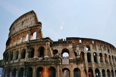 Amphitheatre Colosseum Rome Banco de Imagens - 21475547